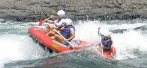 Rafting Guiding down the Tully River