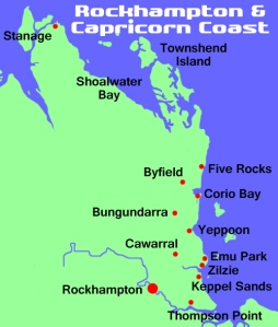 North Keppel Island is off the coast of Yeppoon